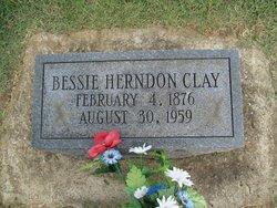 Bessie <i>Herndon</i> Clay