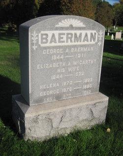 Elizabeth A. <i>McCarthy</i> Baerman