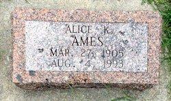 Alice K Ames