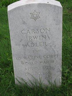 Carson Irwin Adler