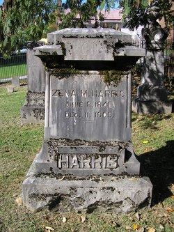 Margaret Melzena Zena <i>Elliott</i> Harris