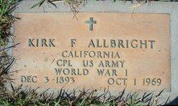 Kirk F Allbright