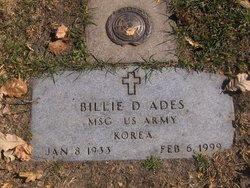Billy Dean Ades