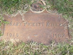 Mary <i>Pickett</i> Killam