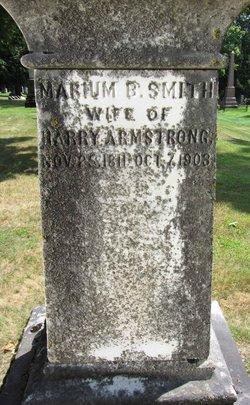 Marium Button <i>Smith</i> Armstrong