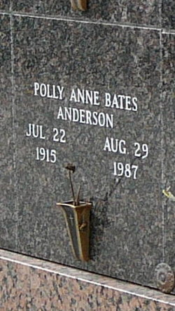 Polly Anne <i>Bates</i> Anderson