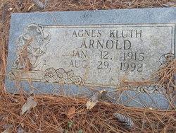 Agnes <i>Kluth</i> Arnold
