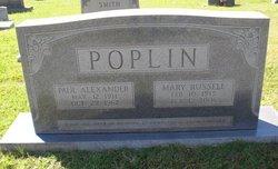Mary Elizabeth <i>Russell</i> Poplin