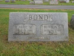 Burton S Bond