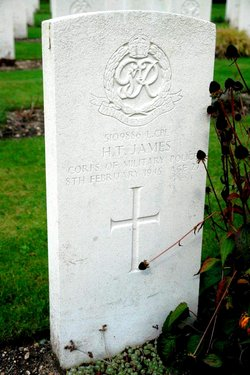 Lance Corporal Harry Thomas James