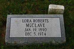 Lora Francis <i>Roberts</i> McClave