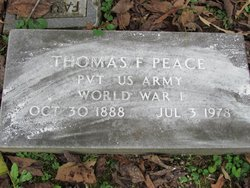 Thomas F. Peace