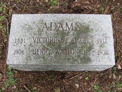 Henry Walton Adams, Jr