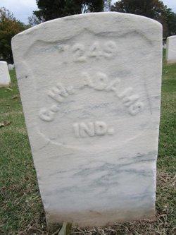 Pvt George W Adams