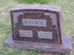 Eva May Effie <i>McKean</i> Rowe