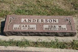 Ida M <i>Chastain</i> Anderson