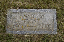 Annie M <i>Alley</i> Frost