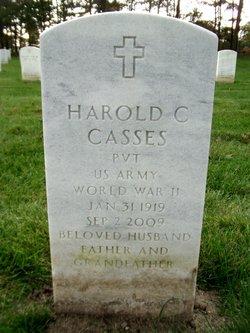 Harold C Casses