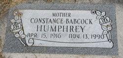 Constance <i>Babcock</i> Humphrey