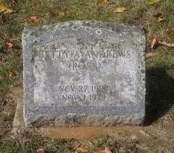 Betsy Ann Betty <i>Ross</i> Andrews