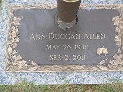 Ann Duggan <i>Brown</i> Allen