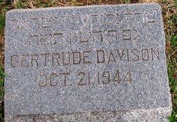 Gertrude S. <i>Raffel</i> Davison