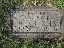 John P H Hinrichs
