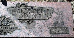 Margaret F <i>Harrington</i> Decker