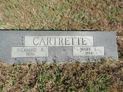 Rhoda Mary Elizabeth Lizzie <i>Sarvis</i> Cartrette
