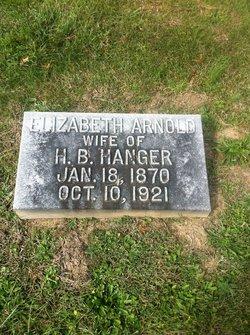 Elizabeth <i>Arnold</i> Hanger