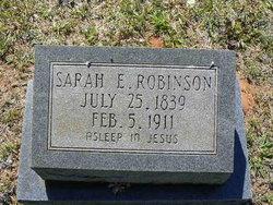 Sarah Elizabeth <i>Fletcher</i> Robinson