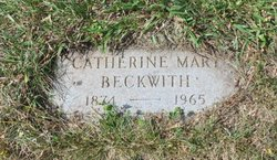 Catherine Mary Beckwith