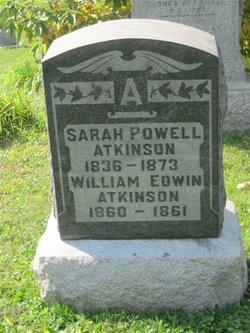 Sarah <i>Powell</i> Atkinson