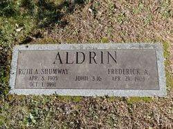 Ruth A <i>Shumway</i> Aldrin