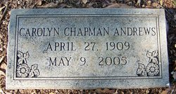 Carolyn <i>Chapman</i> Andrews