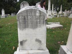 Annie Margaret <i>Kratz</i> Sparks