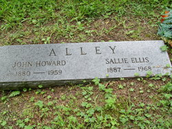 Sarah O Sallie <i>Ellis</i> Alley