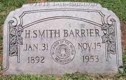 Henry Smith Barrier, Sr