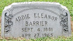 Addie Eleanor Barrier