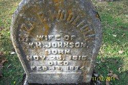 Eliza B <i>Woolfolk</i> Johnson