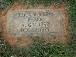 Leola <i>Robbins</i> Pharr