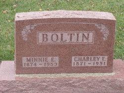 Mrs Minnie E. <i>Stahl</i> Boltin