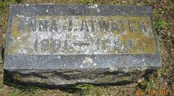 Anna Josie <i>Newberry</i> Atwater