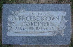Phoebe <i>Brown</i> Gardiner