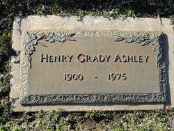 Henry Grady Ashley