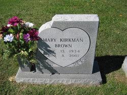 Mary Eliabeth <i>Kirkman</i> Brown