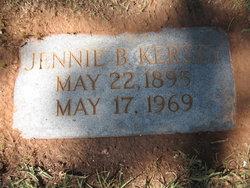 Jennie B <i>Johnson</i> Kersey