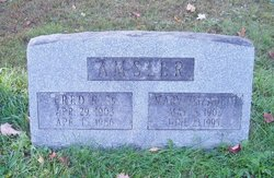 Mary Elizabeth Amsler