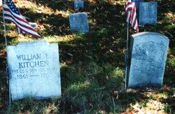 Pvt William E Kitchen