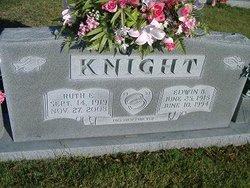 Ruth E. <i>Barton</i> Knight